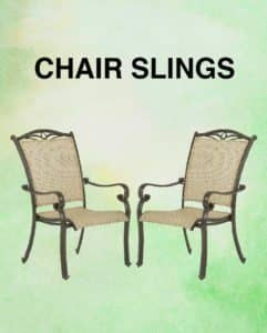 Awe Inspiring Outdoor Replacement Slings For Patio Chair Repairs And Uwap Interior Chair Design Uwaporg